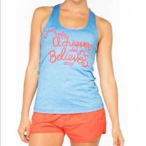 NWT LORNA JANE SIZE MEDIUM MOTIVATIONAL TANK
